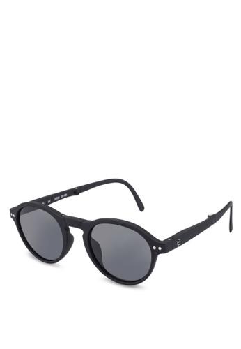 e9c73f15f3 Izipizi black SUN LetmeSee  F Black Soft Grey Lenses +0.00 Sunglasses  39C46GLA70E502GS 1