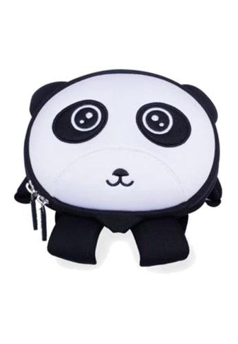 Nohoo black Nohoo Kids Backpack Panda (Black) 1CB1CKC1A0B388GS_1
