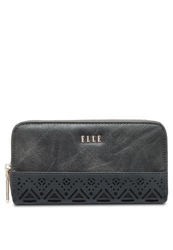 ELLE grey Ell Dalia 2 Wallet B508FAC684DC1BGS_1