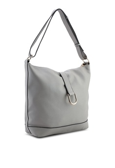 c26f25340ba 40% OFF Dorothy Perkins Grey Metal D-Ring Hobo Bag S$ 59.90 NOW S$ 35.90  Sizes One Size