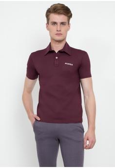 Forza pink Sunfire Polo Shirt F0086AA8DAB8DBGS_1