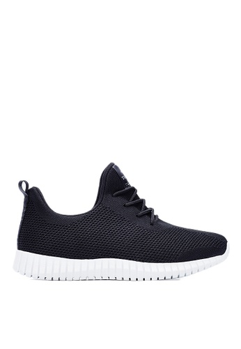 Life8 black Sport Mixed Shose Sneakers-09653-Classic Black LI283SH0GOHSSG_1