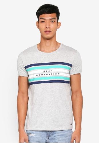 ESPRIT grey Beat Generation Short Sleeve T-Shirt 5EE60AAEE551ABGS_1