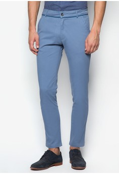 Chino Pants With Piping Detail