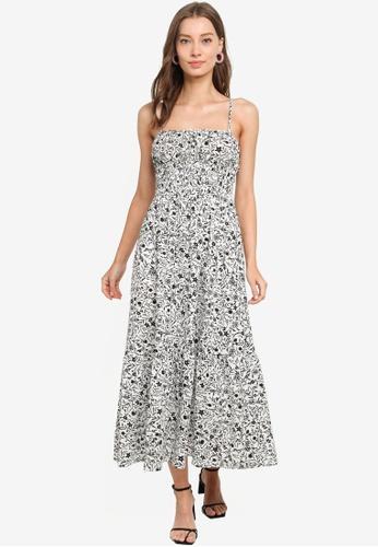 URBAN REVIVO white Cami Dress 3D059AA52825B6GS_1