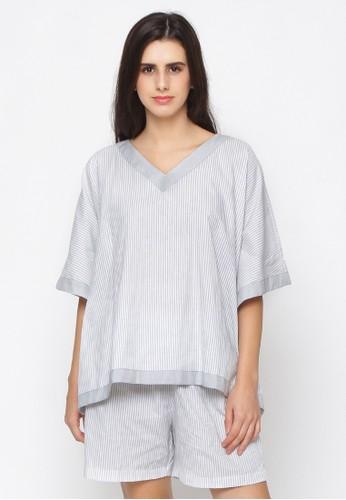 Impression grey Pajamas Sherrie Set 9114 68E7EAAB715886GS_1