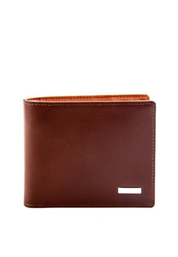 Otto brown Bi-fold Wallet OT407AC0JKY0PH_1