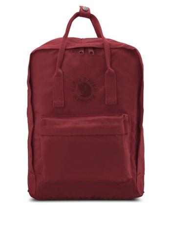 Fjallraven Kanken red Ox Red Re-Kanken Backpack FJ382AC53RJEMY_1