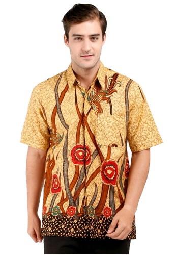 BATIK KENZO brown Aprameya Batik Pria Lengan Pendek 5F375AA9137A16GS_1
