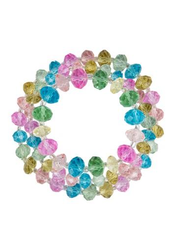 三入彩色串珠手環, 飾品配件, 飾品esprit holdings配件