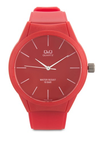 VR28esprit outlet 台灣J010Y 橡膠圓錶, 錶類, 飾品配件