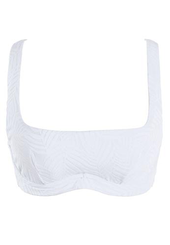 Sunseeker white Minimal Cool D Cup Bikini Top 994E0USA9A6B3AGS_1