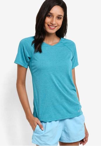 Patagonia blue Shortsleeve Nine Trails T-Shirt PA549AA67WXSMY_1