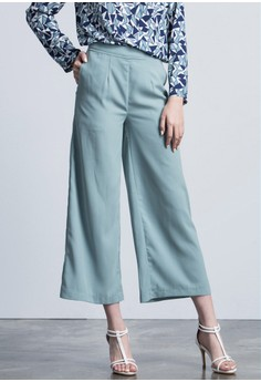 Get Loose Wide Legged Smart Trousers