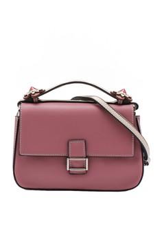 harga Tas Wanita Sling Bag Two Sides White Pink Zalora.co.id