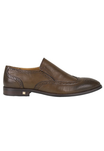 Tomaz brown Tomaz F185 Formal Wingtip Brogues (Coffee) 36DA9SH3C60FD9GS_1