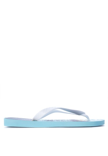 Ipanema white and blue Urbana Flip Flops IP498SH29IGKPH_1