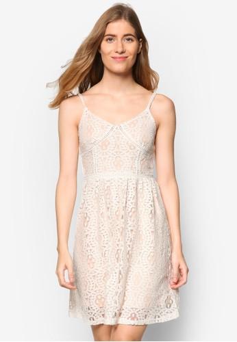 Shotell 蕾絲細肩帶洋裝,esprit outlet 高雄 服飾, 洋裝