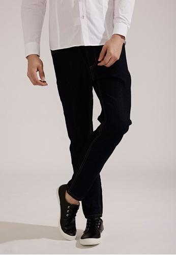 Life8 Classic Comfort Elastic Denim Pants-02401-Blue LI283AA0FFGKSG_1