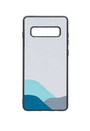POROLUXE grey PHONE CASE FOR SAMSUNG S10+ 3D61FAC91FBBB0GS_1