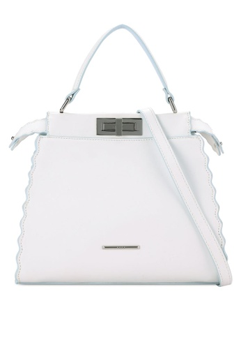 Nose white Duo Tone Colorful Tote NO327AC0RC9GMY_1