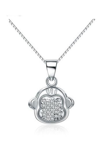 LYCKA silver LPP88100 S925 Silver Necklace F4575AC2DEFA00GS_1