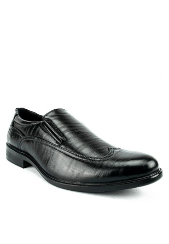 Cardam's Lifestyle black Shawn Dress Shoes FC00FSHA85C60AGS_1