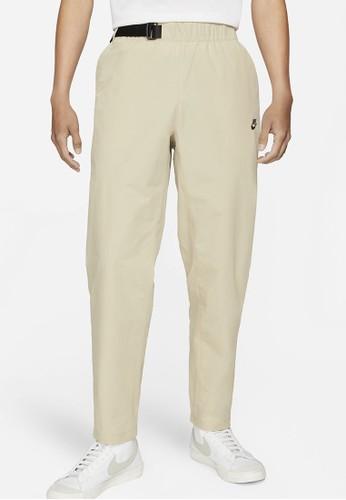 Nike beige Men's Sportswear Premium Essentials Woven Pants E051CAA108EC40GS_1