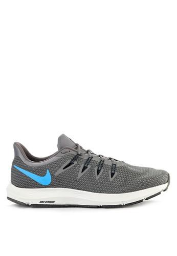 Nike grey Nike Quest Shoes 3A57CSHDA335E6GS_1