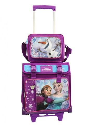 Disney multi Frozen Elsa and Anna Box Type Trolley Bag C62A4KC6E77539GS_1