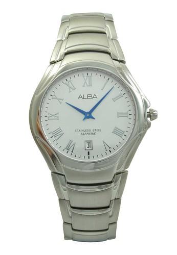 Alba silver ALBA Jam Tangan Pria - Silver - Stainless Steel - AVKE11 AL383AC46XRLID_1