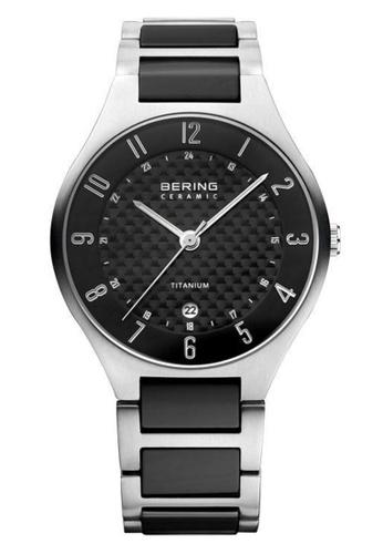 Bering black Titanium 11739-702 Grey 39 mm Men's Watch 47940AC5182D7DGS_1