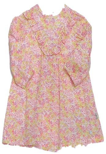 Organic mom orange Organic Cotton Linda Floral Outfit 26BF4KA7655CCBGS_1