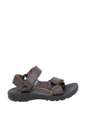 EKAN brown Belzig Youth Sandals EK228SH0FILVSG_1