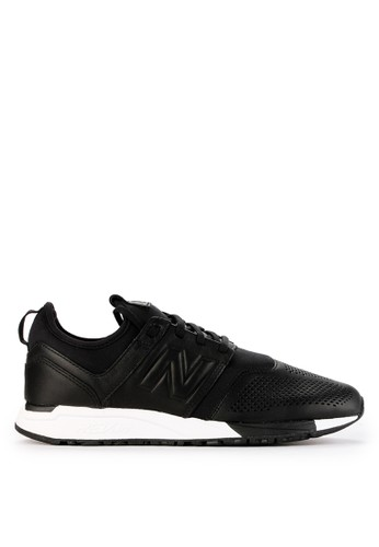 New Balance black 247 Core Leather D345DSHC037F2DGS_1