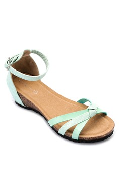 Claire Wedge Sandals