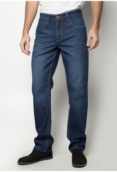 Travis Denim Jeans with S Shape Waistband