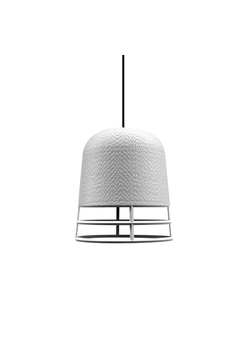 Qualy Qualy Small Carver Lamp Wireframe (White) 3B55BESCA1B216GS_1