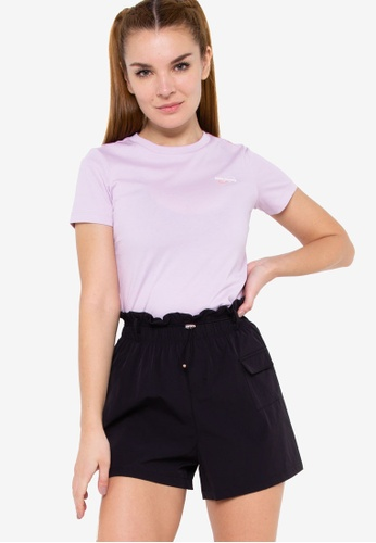 Anta 紫色 夏日Surfing 短袖T恤 4FE6BAADA2F6F6GS_1