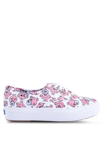 Keds multi Triple Little Miss Lucky Print Sneakers 30C30SH151BC00GS_1