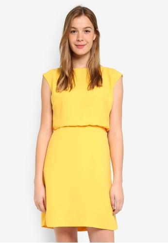 Buy Banana Republic Drape Back Fit And Flare Dress Online On Zalora