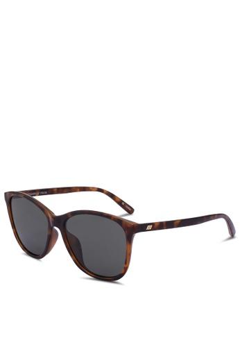 Le Specs brown Entitlement 1702156 Sunglasses BECA0GL6570237GS_1