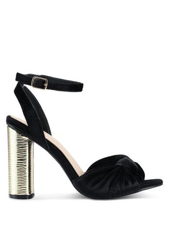 Carlton London black Chunky Block Heels 78E6BSH212904EGS_1