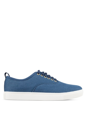 JAXON blue Classic Canvas Sneakers 4B669SH3833D44GS_1