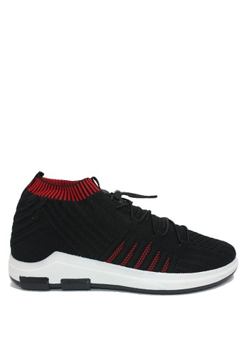 Dr. Kevin black and red Dr. Kevin Men Sneakers 13363 - Black/Red 1489ESH8E8D8CEGS_1