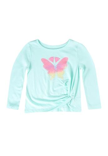 GAP multi Butterfly Twist T-Shirt FE106KA7C5D791GS_1
