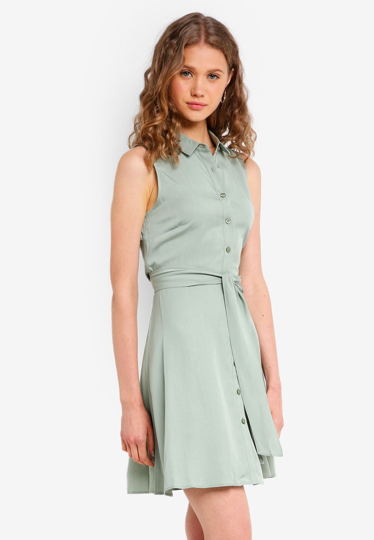 Tie Shirt Oakham Sage Jack Wills Dress 8wWqA