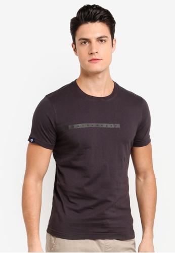 Volkswagen 灰色 短袖印花T恤 2B01FAA3F4A8CEGS_1