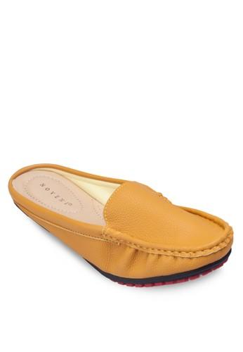 esprit outlet 台灣仿皮休閒拖鞋, 女鞋, 懶人鞋