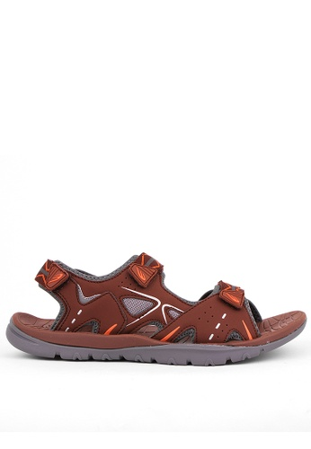 World Balance brown Grand Canyon Mens Sports Sandals F43AFSH85E98A4GS_1